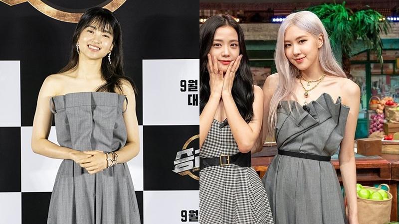 Cùng diện một thiết kế, Rosé chặt đẹp 'ngọc nữ' mới của Song Joong Ki nhờ cách phối đồ tinh tế