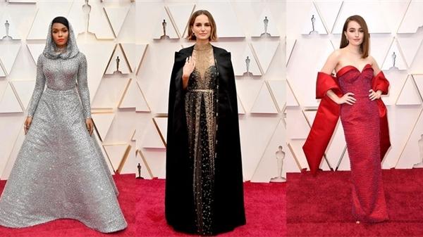 Top 10 trang phục thảm đỏ đẹp nhất 2020 của mỹ nhân Hollywood