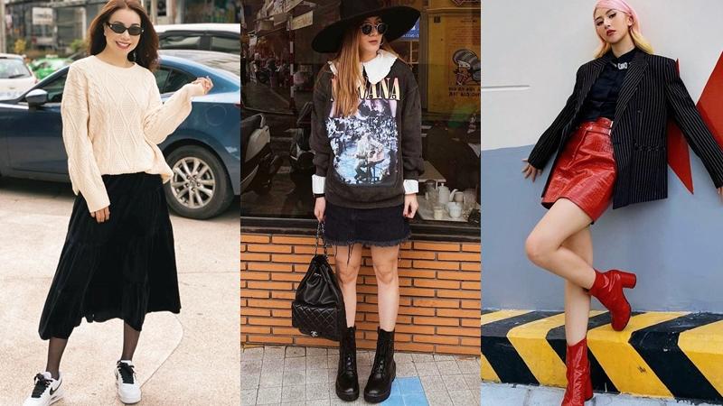 Mặc đẹp cả tuần với loạt set đồ điểm 10 cho mùa đông của các mỹ nhân Việt