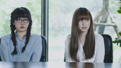 Trailer tập 11 'Mỹ nhân chiến': Quỳnh và Khuê bị tố cáo chuyện gian lận giúp các sinh viên thi tiếng Anh