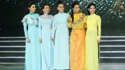Anh Thi, Băng Khuê, Bảo Như và Như Ý xuất sắc lọt Top 4 đêm chung kết 'Duyên dáng Bolero' 2019