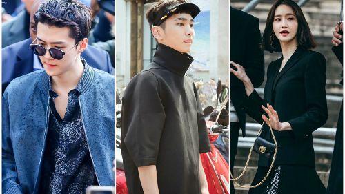 Không hổ danh là 'vườn bông xuất sắc', dàn idol nhà SM nhiều lần tỏa sáng tại các tuần lễ thời trang quốc tế