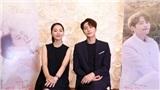 Shin Hye Sun và L (Infinite) của 'Sứ mệnh cuối của thiên thần' gửi lời chào tới fan Việt