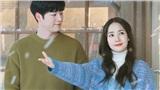 'Trời đẹp em sẽ đến' tung poster mới: Park Min Young mải ngắm tuyết trắng rơi mà không hề hay biết Seo Kang Joon đang nhìn trộm mình