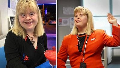 Không gì là không thể: Cô gái mắc bệnh Down thỏa mãn ước mơ trở thành tiếp viên hàng không