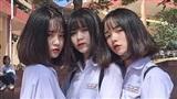 Ba nữ sinh 'lung linh' chụp chung một bức ảnh, cư dân mạng nháo nhào tìm info