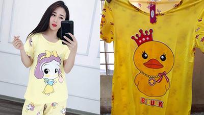 Thêm một vụ mua hàng online 'số nhọ': Đặt mua họa tiết chibi mộng mơ, cô gái ngậm ngùi nhận được áo vịt vàng
