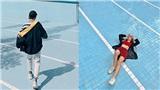 Tận dụng 'hồ bơi rút nước' mới toanh, giới trẻ Đà Lạt chụp ảnh chẳng khác gì fashionista