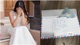 Người yêu cũ mừng cưới 20k cùng bức thư 'bí mật' khiến cô dâu bị chồng đuổi ra khỏi nhà ngay đêm tân hôn
