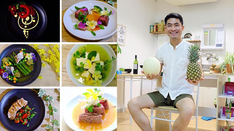 Loạt tuyệt phẩm bếp núc đẹp như tranh của chàng trai Việt 27 tuổi: Luồng gió mát cho ngày nóng 40 độ C