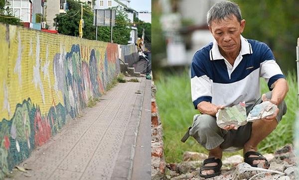 600m của con đường gốm sứ đạt kỷ lục Guinness tại Hà Nội bị đập bỏ
