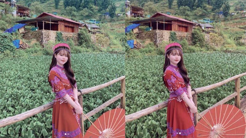 Huỳnh Anh xinh ngất khi hóa 'nàng thơ' Tây Bắc, quả nhiên Quang Hải không thể ngó lơ