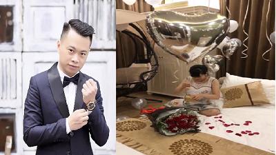 'Người chồng của năm' tự tay chuẩn bị món quà sinh nhật đặc biệt dành tặng vợ