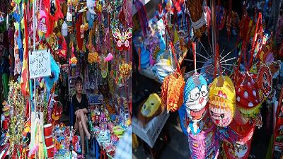 Dạo phố Hàng Mã ngắm đèn lồng truyền thống, tậu ngay một cái về chơi Trung thu!