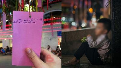 Tết Trung thu: Mảnh giấy nhỏ ghi điều ước của một đứa trẻ khiến ai cũng xúc động