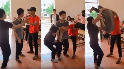 Trào lưu thử thách lộn người nguy hiểm nhưng vẫn 'hút' giới trẻ Việt hưởng ứng nhiệt tình