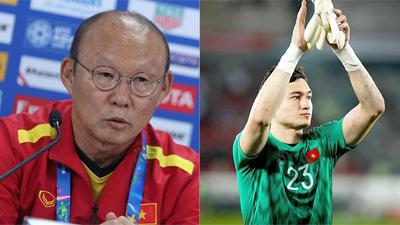 Sự thật về phát ngôn của HLV Park Hang Seo đối với thủ môn Văn Lâm