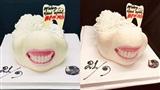 Chiếc bánh sinh nhật có '1-0-2' dành riêng cho 'team niềng răng' gây sốt cộng đồng mạng
