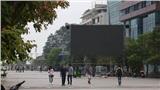 Phố đi bộ Nguyễn Huệ lắp 5 màn hình LED phục vụ cổ động viên theo dõi trận Việt Nam - Thái Lan tối nay