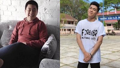 Kiên trì giảm 25kg trong 3 năm, nam sinh 10X Lâm Đồng 'lột xác' khiến chị gái còn suýt nhận không ra