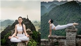 Chiêm ngưỡng bộ ảnh yoga trên hang Múa của nàng mẫu nhí, dân tình đồng loạt 'đứng hình 5s'