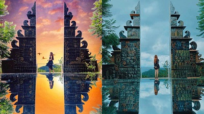 Chẳng cần tốn tiền đến Bali làm gì, 'cổng trời' đã xuất hiện ở Đà Lạt tha hồ check in