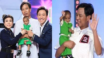 Cậu bé tí hon nặng 3,9kg xuất hiện ở 'Người bí ẩn' khiến Trấn Thành, Việt Hương muốn ôm trọn trong tay