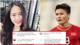 'Bạn gái tin đồn' của Quang Hải bị antifan 'tấn công' tới tấp trên trang cá nhân