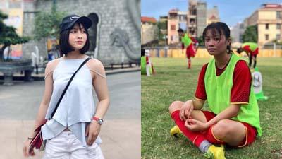 Ảnh đời thường xinh đẹp của 'bóng hồng' đội tuyển bóng đá nữ Việt Nam
