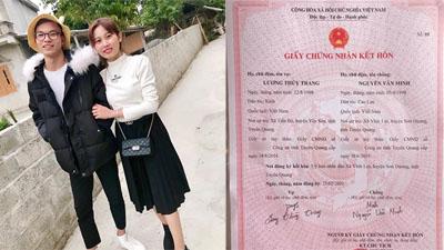 Chuyện tình 'nhanh như chớp' của cặp 9x Tuyên Quang: Gặp một lần là yêu, kết hôn chỉ sau 30 ngày 'dính thính'