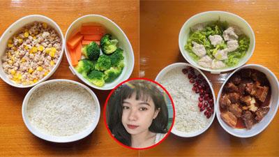 Girl xinh khoe cơm trưa toàn món ăn ngon tự làm, vừa tiết kiệm lại vừa đảm bảo an toàn trong mùa dịch