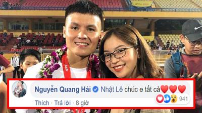 Quang Hải bất ngờ công khai xác nhận đã quay lại với Nhật Lê, không để tất cả phải đoán già đoán non?
