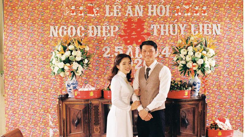 Ảnh cưới phong cách 'ngày xưa ấy' từ trang phục đến bối cảnh của cặp đôi Gia Lai