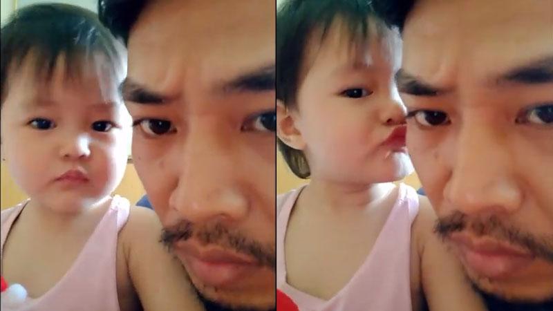 Ông bố trẻ sở hữu chất giọng đặc biệt, đăng video tâm sự cùng con gái cũng hút cả chục nghìn like