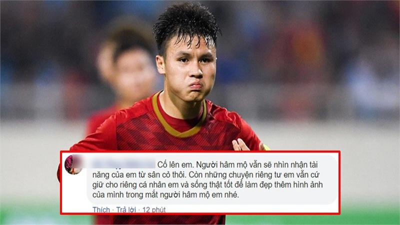 Phản ứng của fans sau khi Quang Hải lên tiếng vụ bị hack Facebook: Người 'chỉ quan tâm tài năng', kẻ 'hoàn toàn sụp đổ'