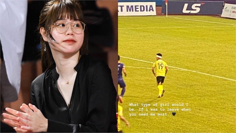 Huỳnh Anh vừa chính thức đưa ra quyết định về số phận mối tình với Quang Hải sau vụ bạn trai lộ hàng loạt tin nhắn yêu đương nhạy cảm