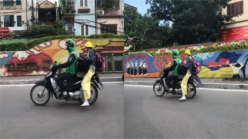 'Hot girl' Bella xuất hiện tại Hà Nội, dân mạng ngán ngẩm: Lại thêm một tài xế xe ôm công nghệ gặp xui