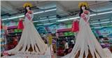Nhìn ma-nơ-canh diện váy 'sang-xịn-mịn' trong siêu thị, ai nấy đều bật cười vì sự thật phía sau