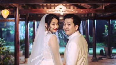 HOT: Tiết lộ hình ảnh đầu tiên của chiếc váy cưới mất 20 ngày thực hiện của Nhã Phương