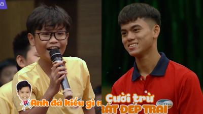 Dàn 'chiến binh tí hon' của Sao nhập ngũ đã đặt câu hỏi gì mà khiến các cầu thủ CLB bóng đá Viettel chỉ biết cười trừ khó xử?