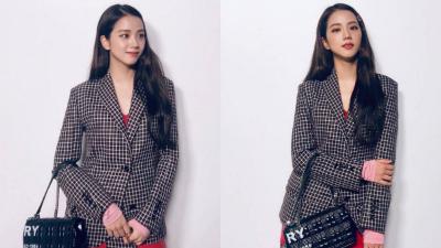 Jisoo (Black Pink) 'nổi bần bật' tại runway show của Burberry, dù khoác lên người trang phục không khác đồ công sở là bao