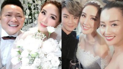 MC Thùy Dung - Quỳnh Chi được dân mạng 'đẩy thuyền' về chung một nhà, sau khi bắt được hoa cưới của Bảo Thy