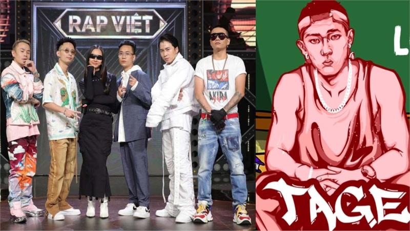 Nam rapper 'ma mới' được réo tên không ngừng sau khi dân mạng xem clip HLV Rap Việt giành giật một thí sinh trong teaser tập 2