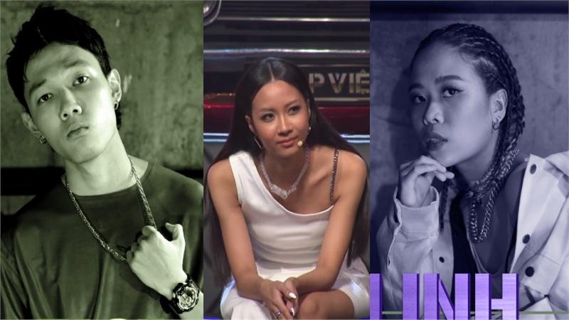 Karik 'tố' Suboi thiên vị cho nữ rapper Tlinh trong vòng Đối đầu Rap Việt