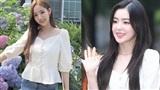 Đọ sắc giữa Irene (Red Velvet) và Park Min Young khi cùng diện một chiếc áo giống nhau
