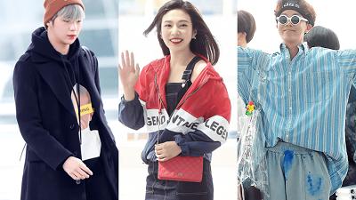 Phong cách thời trang sân bay sành điệu của sao Hàn nửa đầu năm 2018