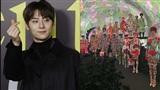 Lộ diện hình ảnh Hwang Minhyun tại Milan Fashion Show