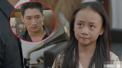 'Hoa hồng trên ngực trái': Ám ảnh ánh mắt bé Bống khi chứng kiến bố Thái đánh mẹ Khuê