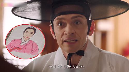 Ngạc nhiên chưa, đến khách Tây cũng phải ghé sạp mai mối của 'Biệt đội hoa hòe: Trung tâm mai mối Joseon' để chống ế