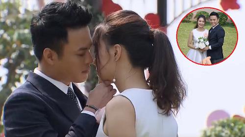 'Hoa hồng trên ngực trái' tập cuối: Chưa kịp hôn Bảo thì bị phát hiện, Khuê lập tức được San tung hoa cưới
